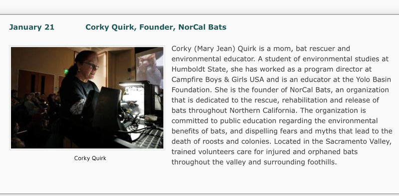 Photo and description of Corky Quirk, Founder of NorCal Bats